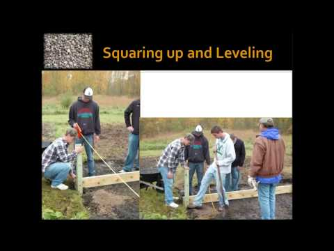 Community Gravel Beds for Bare Root Planting