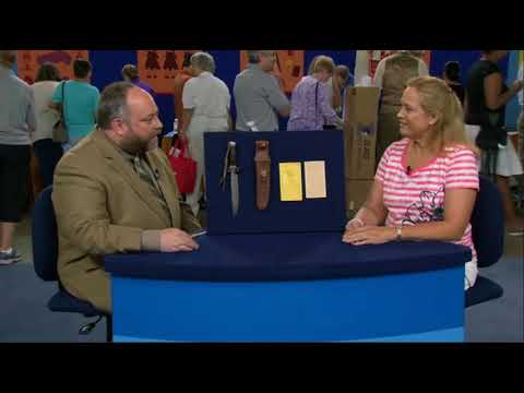 Randall Knife On Antiques Roadshow