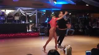 Zafire salsa dance show amaya social
