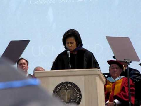 Why Michelle Obama chose UC Merced