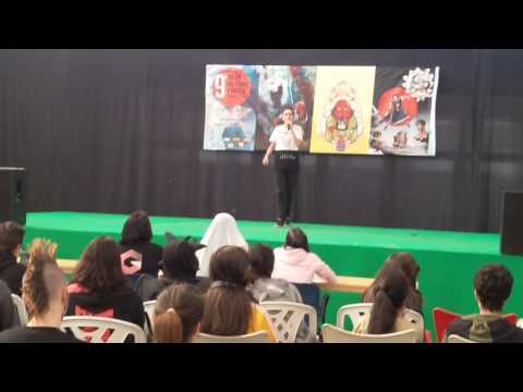 Concurso Karaoke. 9º Salón del Cómic y Manga de Castilla y León.