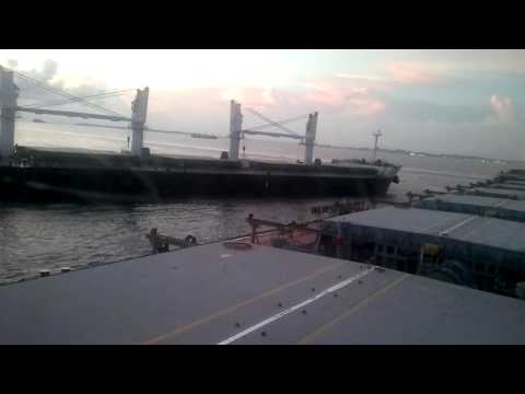 Collision at Singapore(05 05 2013)