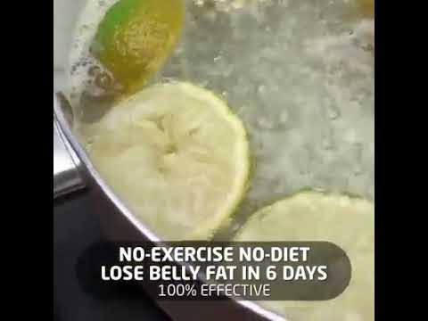 Lose Belly Fat In 6 Days ( No-Exercise No-Diet) thumbnail