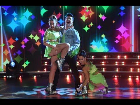 ¡Laura Esquivel y Jey Mammon bailaron cuarteto y demostraron mucho talento!