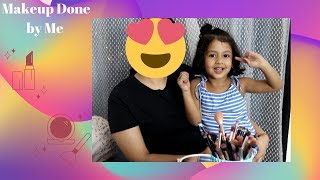 Makeup by 4 years old kid | Youngest Makeup Artist | INCREDIBLE!!!!
