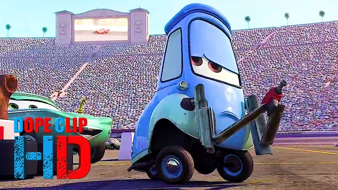 Cars 2006 Guido S Fast Pitstop 7 8 Dopeclips Youtube