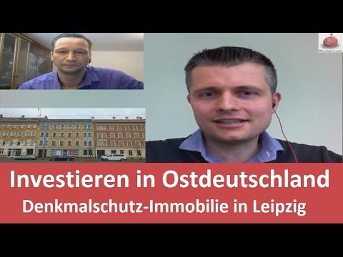 Investieren in Ostdeutschland - Denkmalschutz-Immobilie in Leipzig