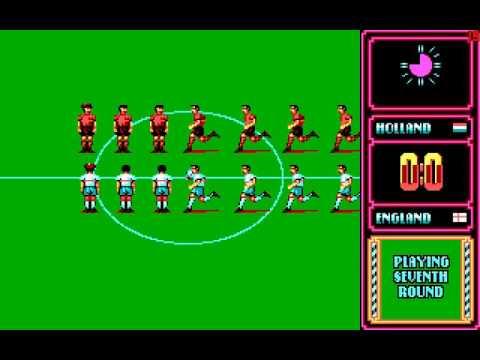 Rick Davis World Trophy Soccer - gameplay