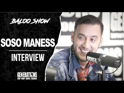 Youtube: Soso Maness – Interview BalooShow: »C'est JuL qui a enregistré mon premier son!»