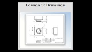 "SOLIDWORKS Tutorial ""Lesson 3: Drawings"" (06/10)"