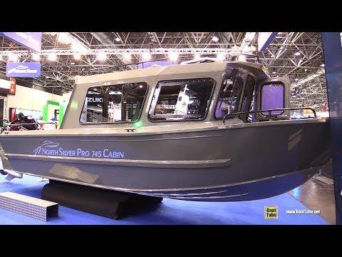 2020 North Silver Pro 745 Cabin Aluminium Russian Boat - Walkaround Tour - 2020 Boot Dusseldorf