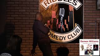 Damon Williams 25 years of Comedy