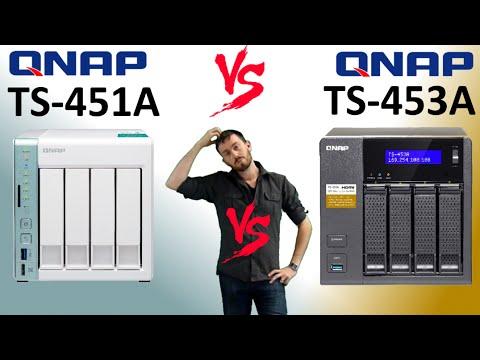 The QNAP TS-451A versus the QNAP TS-453A - NAS+DAS vs NAS+Dual OS Faceoff