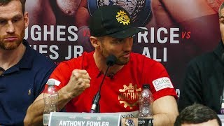 'I'm gonna PUNCH YOUR FACE IN!' Fowler vs Fitzgerald press conference