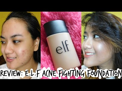 Review Makeup: Foundation Untuk Kulit Jerawat (ft. e.l.f Acne Fighting Foundation)
