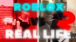 ROBLOX VS REAL LIFE 2 [PARKOUR]