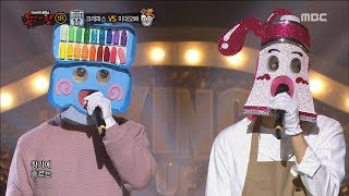 [King of masked singer] 복면가왕 - 'crayon' VS 'college of fine arts' 1round - Youth 20171210