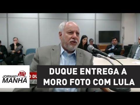 Duque entrega a Moro foto com Lula e provas de encontro em aeroporto | Jornal da Manhã