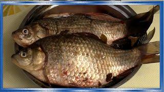 КАРАСИ ТОМЛЁНЫЕ В СМЕТАНЕ, Как жарить рыбу без костей вот так! рецепт fishermandv27rus