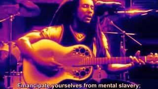 Bob Marley   Redemption song letra lyrics spanish english subtitles subtitulada.mp3