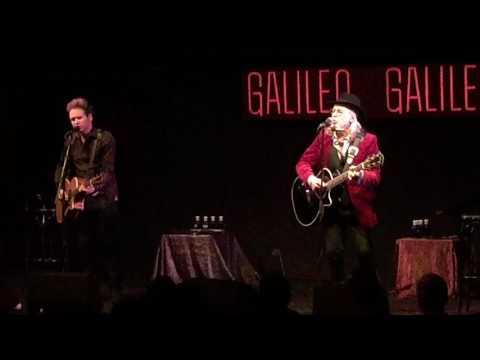 Concierto Elliott Murphy (con Olivier Brand) en Sala Galileo Galilei. Madrid. 21/01/2017