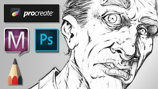 What Digital Art Programs I Use And Why