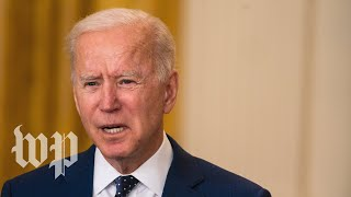 WATCH: Biden delivers remarks on the current state of coronavirus vaccinations