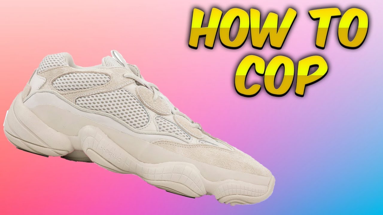2589263a6d7ca How To Cop The Yeezy 500 Blush - YouTube
