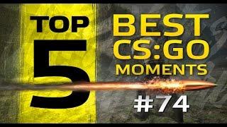 TOP5 Best CSGO Moments #74