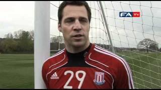 Stoke's safe hands Thomas Sørensen on the Bolton game