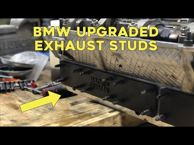 HOW TO INSTALL UPGRADED EXHAUST STUDS