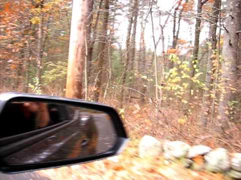 Driving through Mass