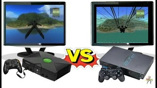 just cause (Xbox vs PS2) - Side By side comparision