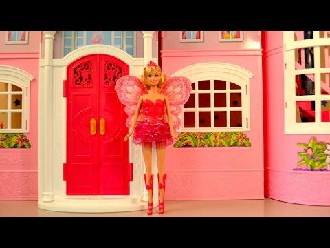 Barbie Princess Fairy Anna Mermaid Elsa Fairytale  dress up Dolls Video  | TheChildhoodLife