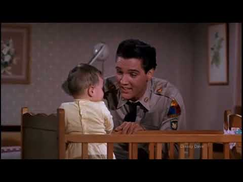 Elvis Presley - Big Boots Scene from the movie G.I. Blues (1960) HD
