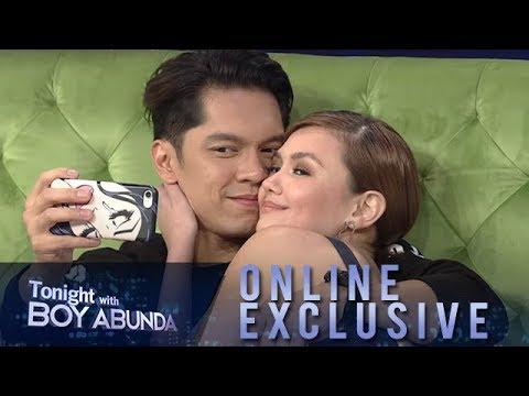 TWBA Online Exclusive: Carlo Aquino and Angelica Panganiban
