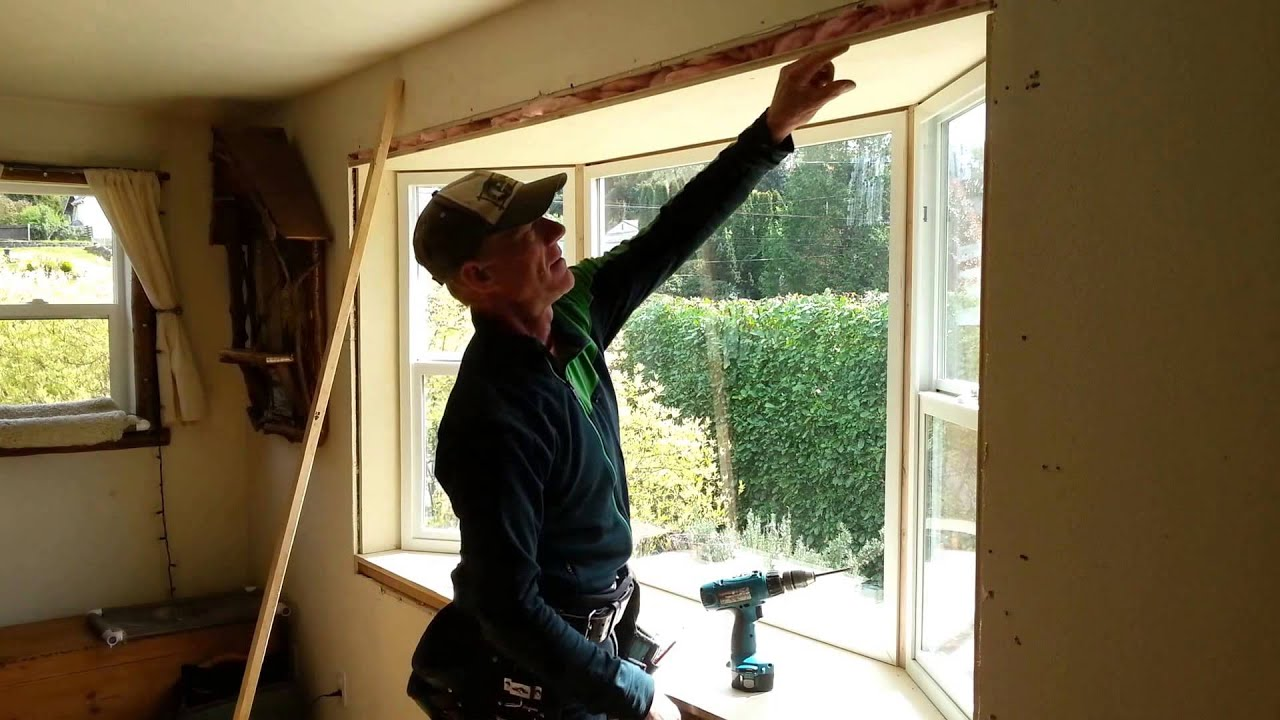 How to Install a Window – How to Install Bay Window – with Jim How To Install A Bat Window on crack a window, install trim around small window, fillers around window, framing around a window, framing 2x4 window, clean a window,