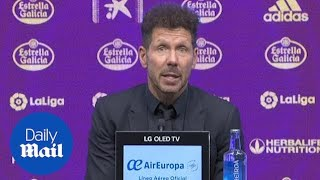 Atletico Madrid's Diego Simeone Praises Players After La Liga Win