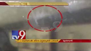 Nishith Narayana death - CC TV visuals of accident - TV9 Exclusive