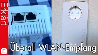Zu Hause überall WLAN Empfang?! - Devolo dLAN 1200+ WiFi Adapter - Test / Review (Deutsch)