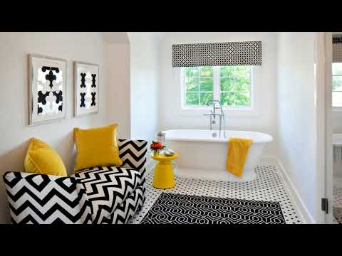 Gray And Yellow Bathroom Ideas