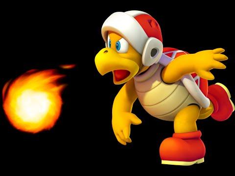 Super Mario 3D World: 5-B Fire Bros. Hideout #2 (100 % All Stars & Stamp) [Gameplay Walkthrough]