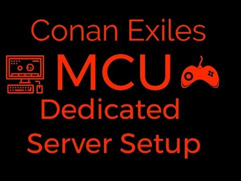 Setup dedicated server conan exiles