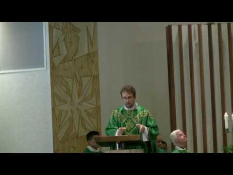 Fr Anthony Hollowell First Mass Homily