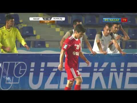 """UzPFL-2017. Oliy liga. MD-20. """"Nasaf"""" - """"Olmaliq"""""""