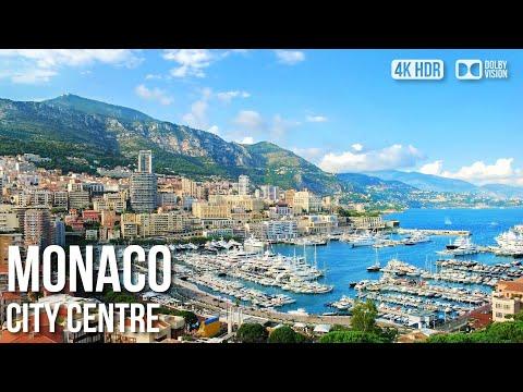Monte-Carlo District, Casino - 🇲🇨 Monaco - 4K Virtual Tour