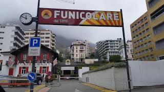 Сколько стоит поднятся на фуникулере на Сан Сальваторе. Швейцария.