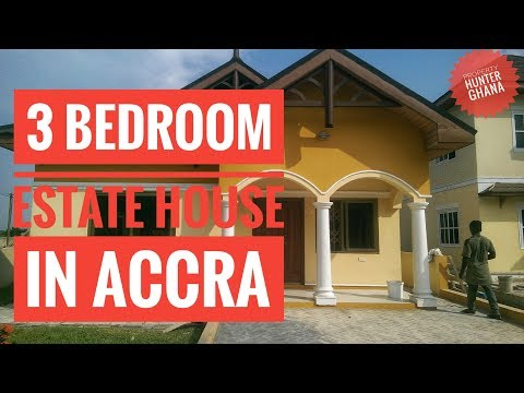 3 bedroom estate house in east legon hills, accra ghana for sale
