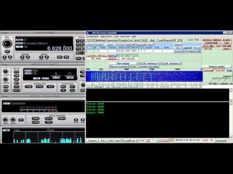 Aircraft HF radio SELCAL - 6.628 Mhz USB