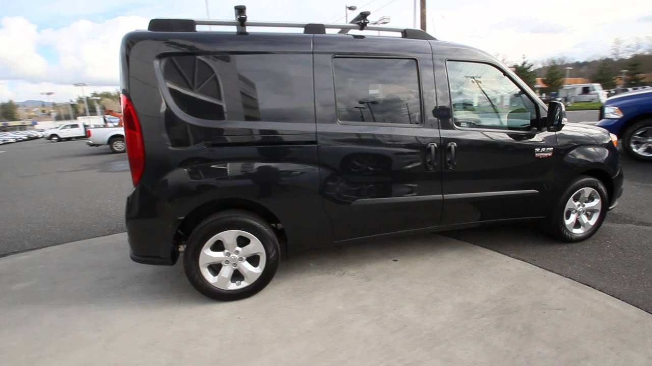 2015 dodge promaster city black f6194114 mt vernon skagit youtube. Black Bedroom Furniture Sets. Home Design Ideas